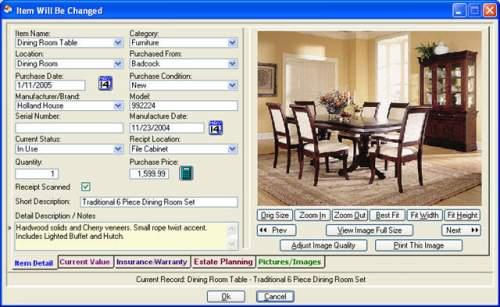 Capture d'écran Computerize Your Assets