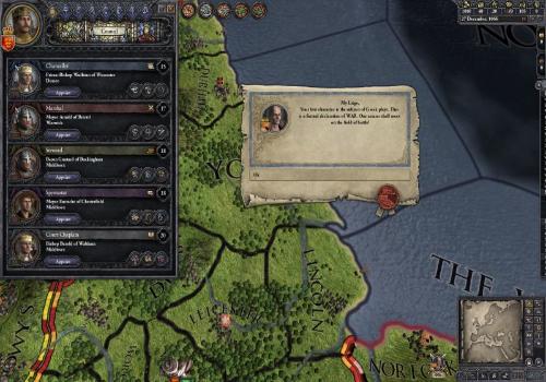 Capture d'écran Crusader Kings 2