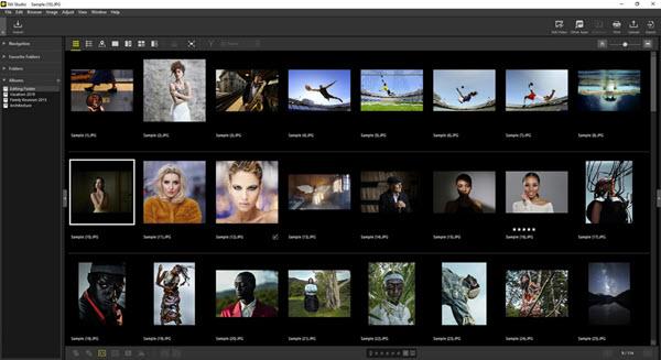 Capture d'écran NX Studio Mac