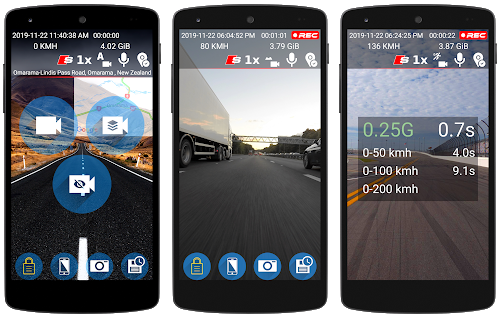 Capture d'écran Dash Cam Travel android