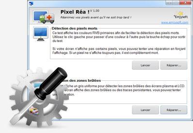 Capture d'écran Pixel Réa