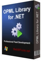 Capture d'écran OPML Library for .NET – Personal Edition