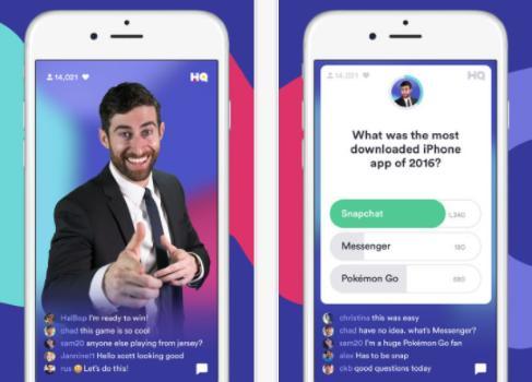 Capture d'écran HQ – Live Trivia Game Show iOS
