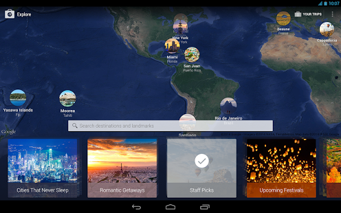 Capture d'écran Expedia Hotels, Flights