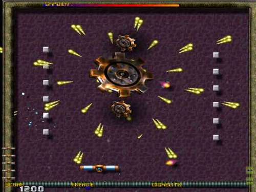Capture d'écran 3DRT BrickBlaster