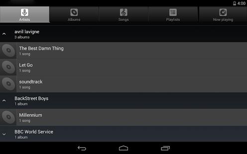Capture d'écran Music Player pour Android