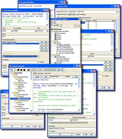 Capture d'écran SmartVBA
