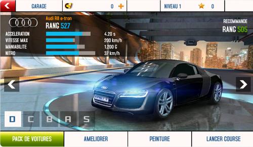 Capture d'écran Asphalt 8 Android