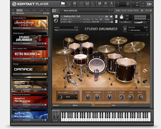 Capture d'écran Kontakt Player Mac