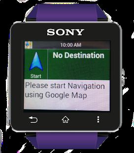 Capture d'écran Smart G Navi for SmartWatch 2