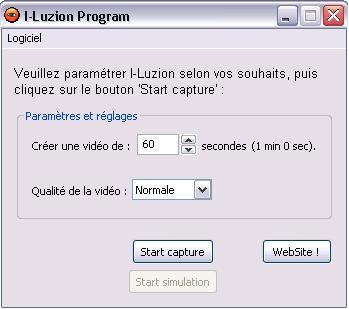 Capture d'écran I-Luzion