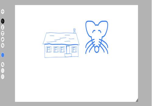 Capture d'écran Google Autodraw