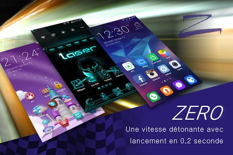 Capture d'écran ZERO Launcher