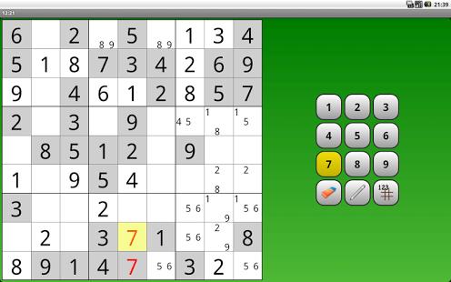 Capture d'écran Sudoku Gratuit Français