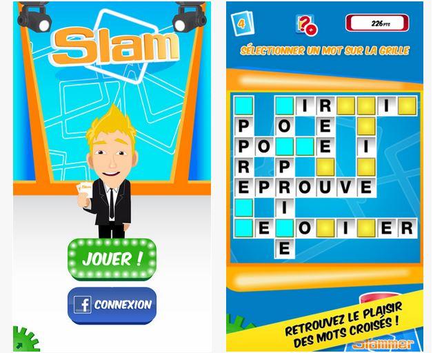 Capture d'écran Slam iOS