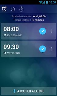 Capture d'écran Réveil Xtreme   Minuterie