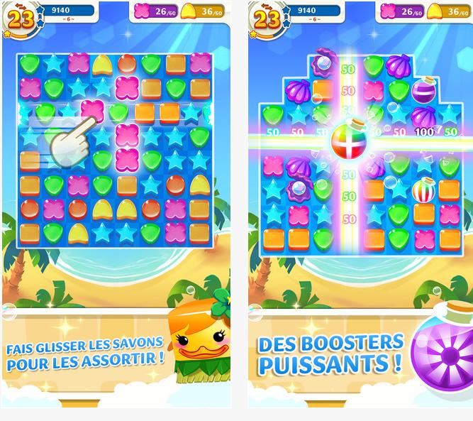 Capture d'écran Scrubby Dubby Saga iOS