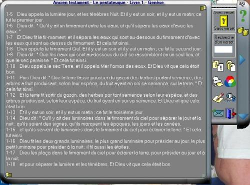 Capture d'écran La bible catholique