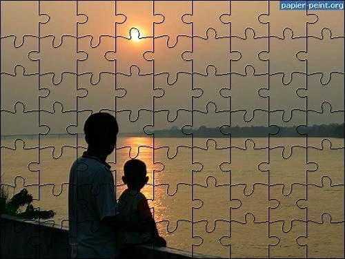 Capture d'écran Puzzle Coucher de Soleil 9