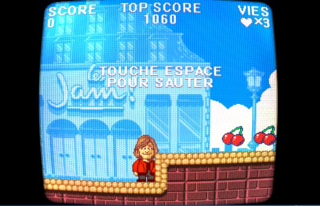 Capture d'écran Super Jam Bros