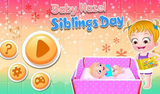 Capture d'écran Baby Hazel Siblings Day