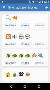 Capture d'écran Emoji Quizzes for WhatsApp