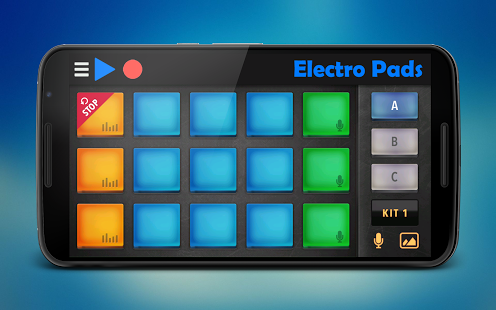 Capture d'écran Electro Pads
