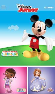 Capture d'écran WATCH Disney Junior