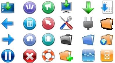 Capture d'écran Pack Icones 3D