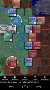 Capture d'écran Eastern Front: Conflict-series