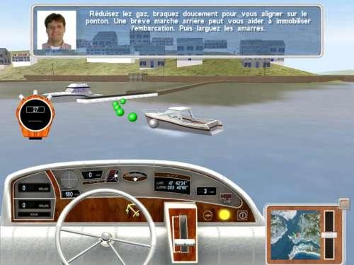 Capture d'écran Super bateau-école 3D
