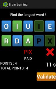 Capture d'écran Des chiffres et des lettres