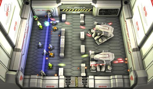 Capture d'écran Tank Hero: Laser Wars