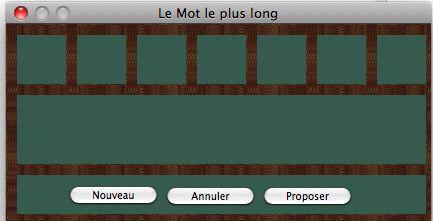 Capture d'écran Lemotlepluslong Mac
