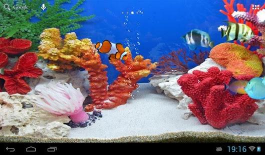 Capture d'écran Poissons tropicaux d'aquarium