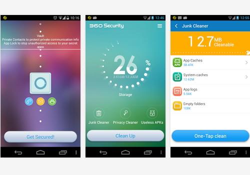 Capture d'écran 360 Security Android