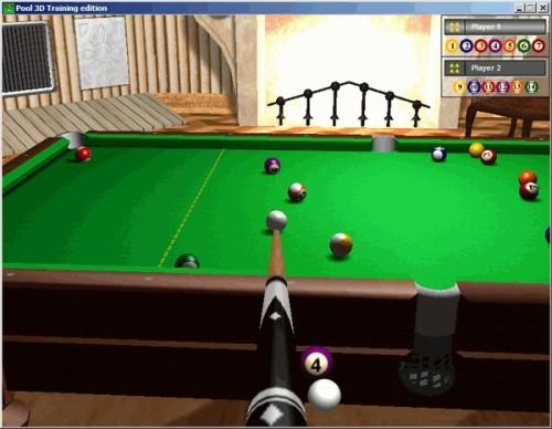 Capture d'écran Pool 3D Training Edition