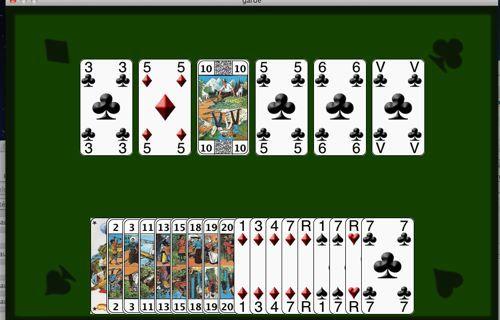 Capture d'écran Tarot