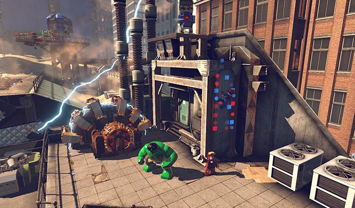 Capture d'écran LEGO Marvel Super Heroes