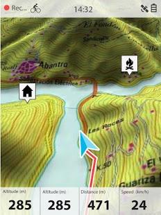 Capture d'écran TwoNav GPS: Tracks