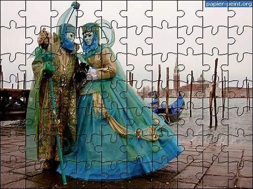 Capture d'écran Puzzles Carnaval 2