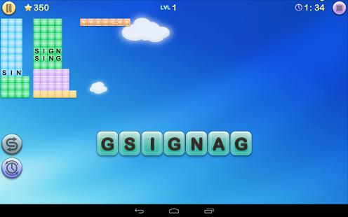 Capture d'écran Jumbline 2 – word game puzzle