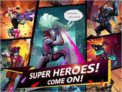 Capture d'écran X-Hero Android