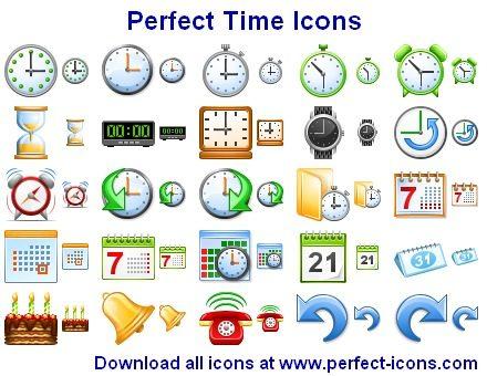 Capture d'écran Perfect Time Icons
