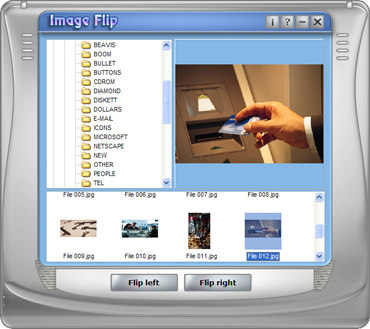 Capture d'écran ImageFlip