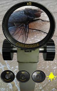 Capture d'écran Microscope Réaliste