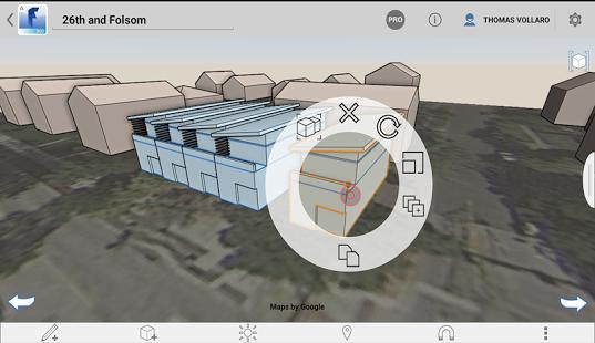 Capture d'écran Autodesk FormIt 360