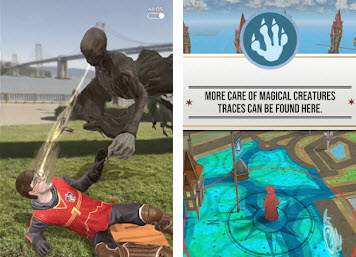 Capture d'écran Harry Potter : Wizards Unite Android