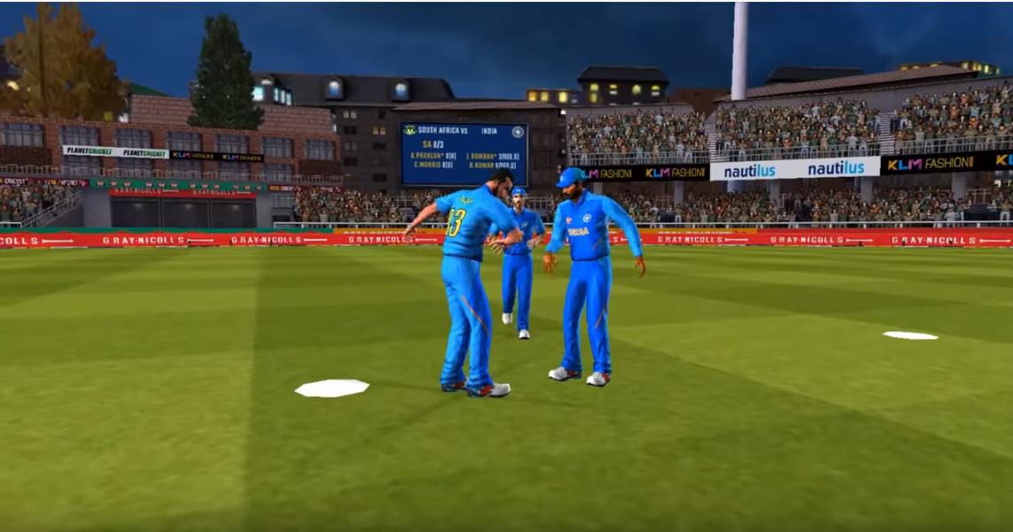 Capture d'écran Real Cricket 20 Android