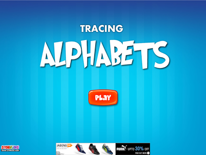 Capture d'écran Tracing Alphabets